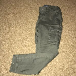 Girls military cargo jeans